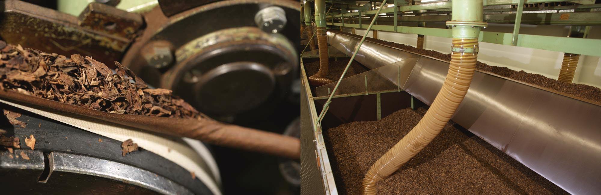 Maschinen zur Fertigung von Zigarren im Werk Königslutter